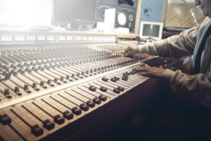 How to produce your first album - get lucky!