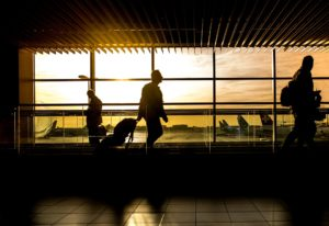 Airport - A bumpy start to our Amercian Dream